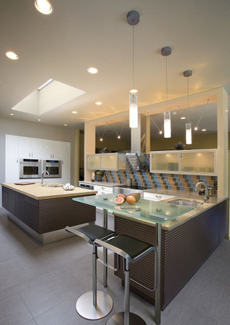 Cool contemporary kitchen light fixtures