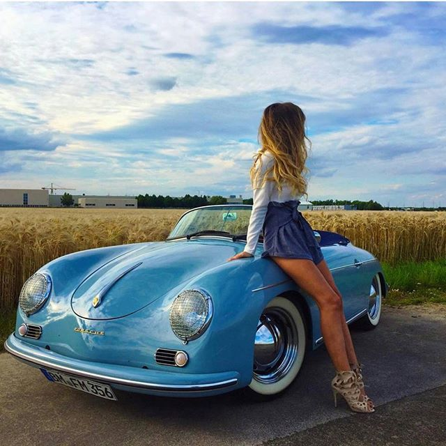 How pretty this #356 is #porsche356pictures