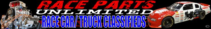 Racing cars, trucks, and parts for sale