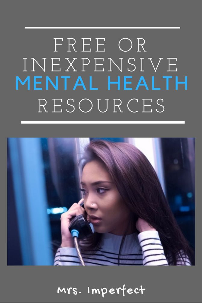 Battling depression, anxiety, or another mental illness? You can get access to free or inexpensive mental health resources.