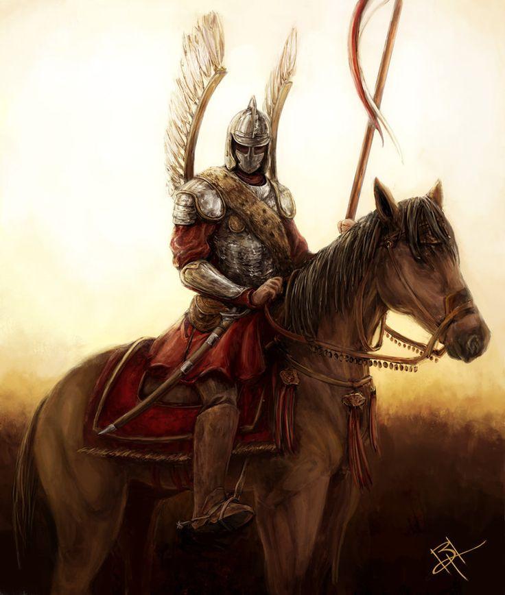 Polish Hussar, redone by MyNameIsByron on DeviantArt
