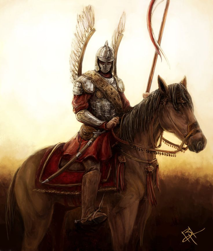 Polish Hussar, redone by MyNameIsByron on DeviantArt