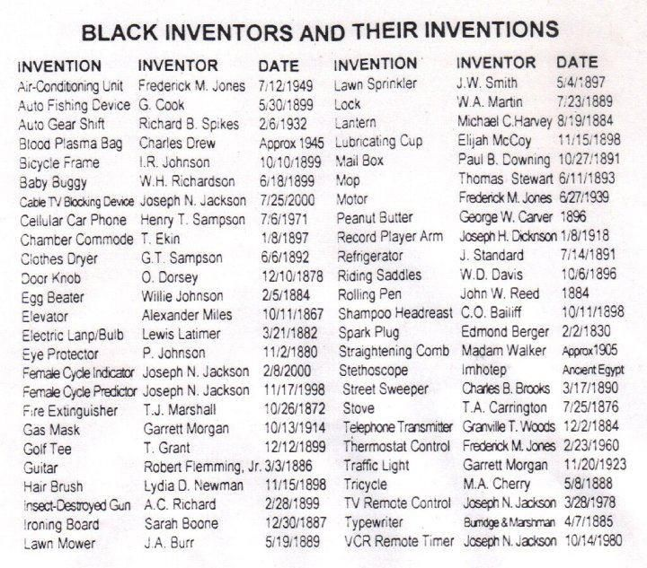 Black History - George Washington Carver ...  |100 Things Black People Invented