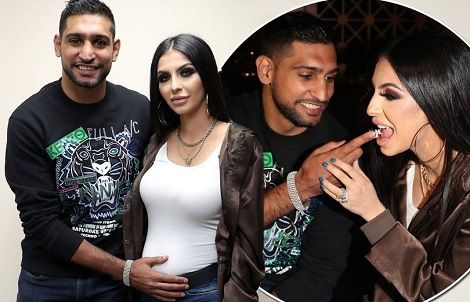 Amir Khan Celebrated His Birthday With Pregnant Wife