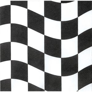 20660944 - Checkered Lunch Napkins Please note: approx. 14 day delivery time. www.facebook.com/popitinaboxbusiness