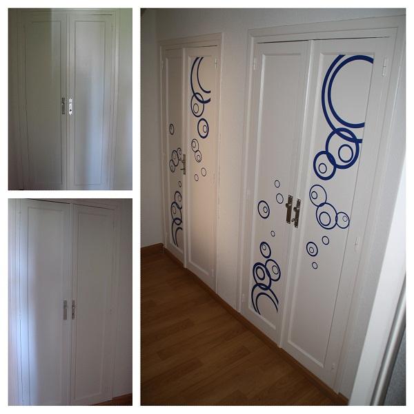154 best images about antes y despues on pinterest - Como decorar un armario ...