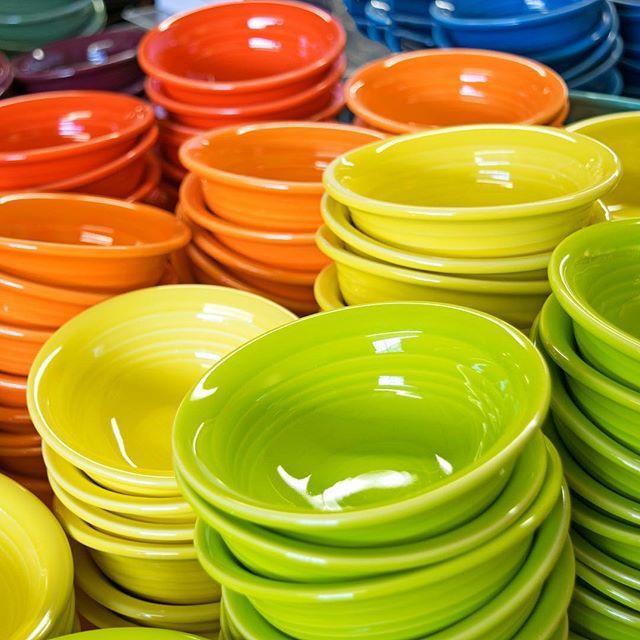 Fiesta salsa bowls
