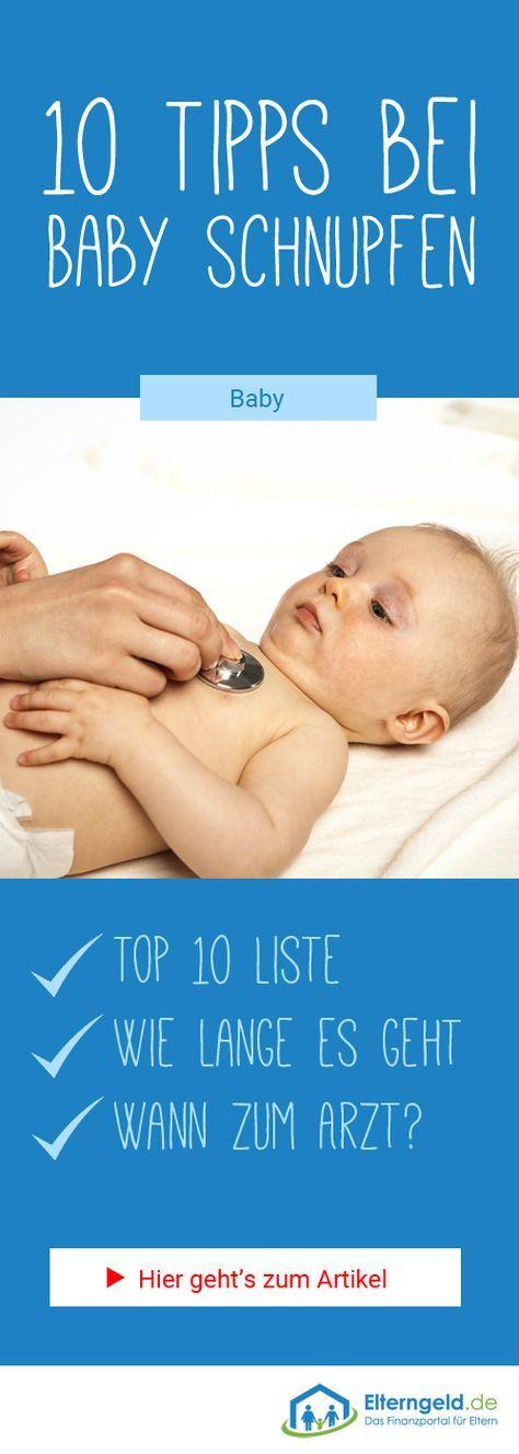 ᐅ Ihr Baby hat Schnupfen? 10 Tipps die wirklich helfen! – Beverly Kultus