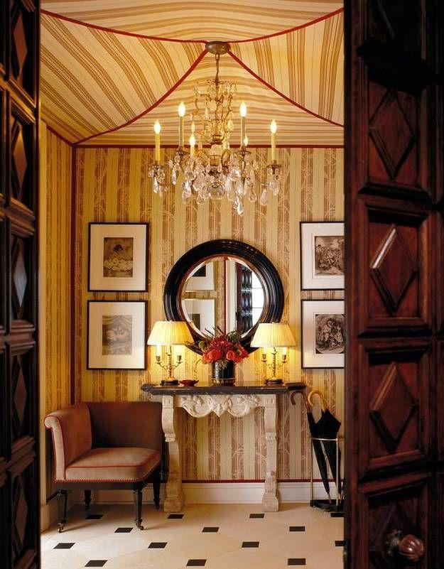 Фотография:  в стиле , Декор интерьера, отделка потолка – фото на InMyRoom.ru