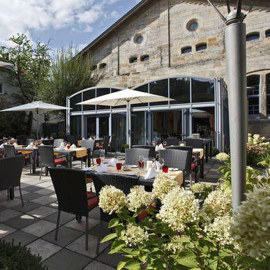 Gemütliche Terrasse - H4 Hotel Residenzschloss Bayreuth - Offizielle Webseite