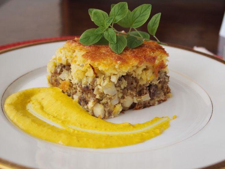 Pastel de Choclo - Opción de hacerlo con queso fresco o carne.
