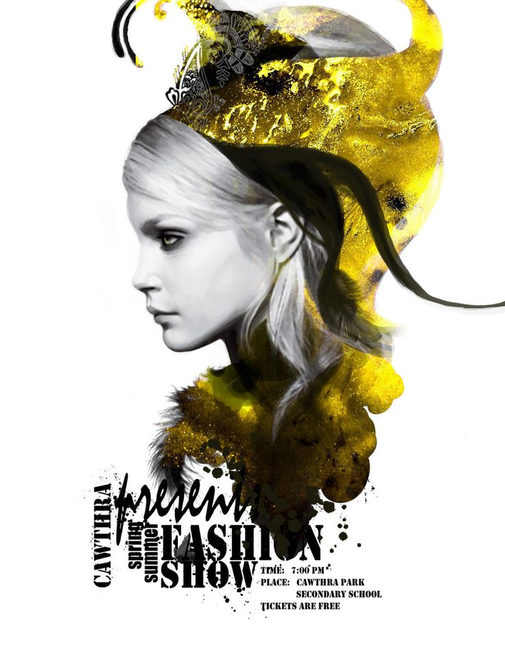 Fashion Poster by giraff-e.deviantart.com on @DeviantArt