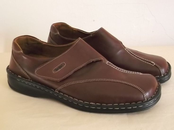 Josef Seibel shoes bnwob brown size 42 velcro fastening leather