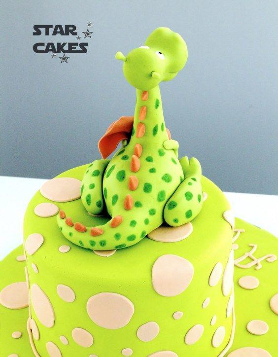 tarta dinosaurio dinosaur cake