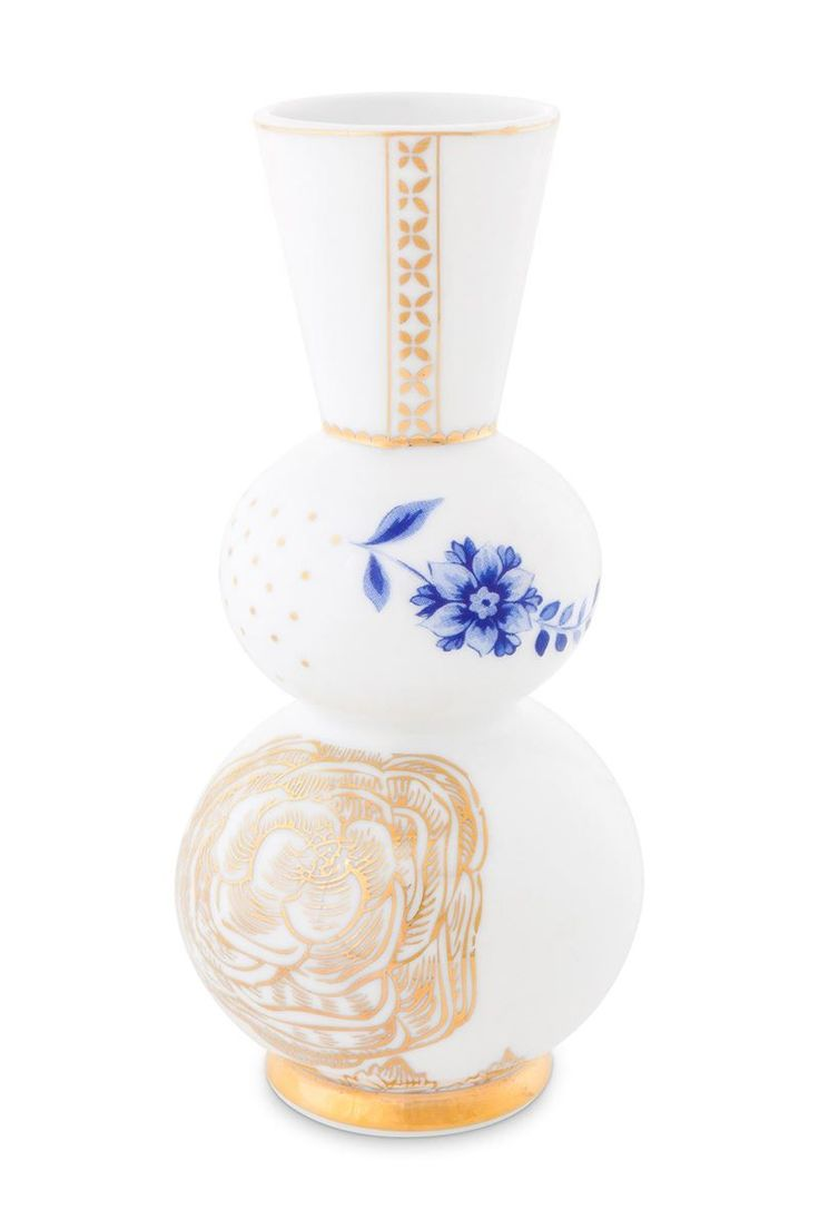 Picture of Royal White round vase