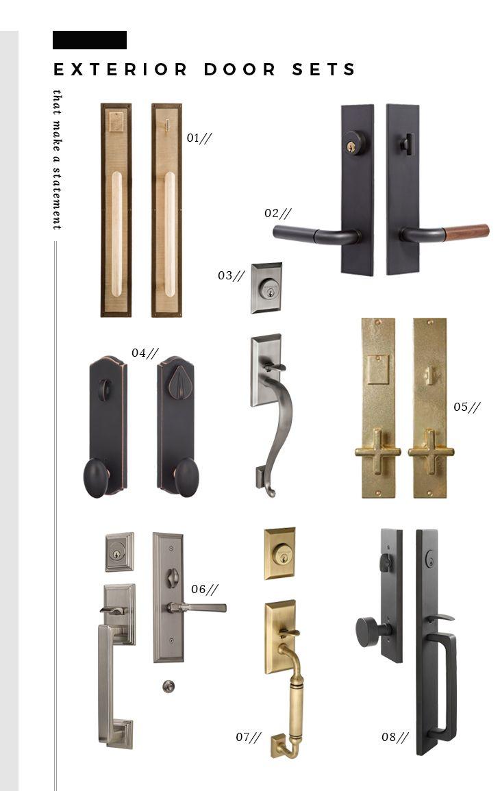 Best 25+ Exterior door hardware ideas on Pinterest | Entry door ...