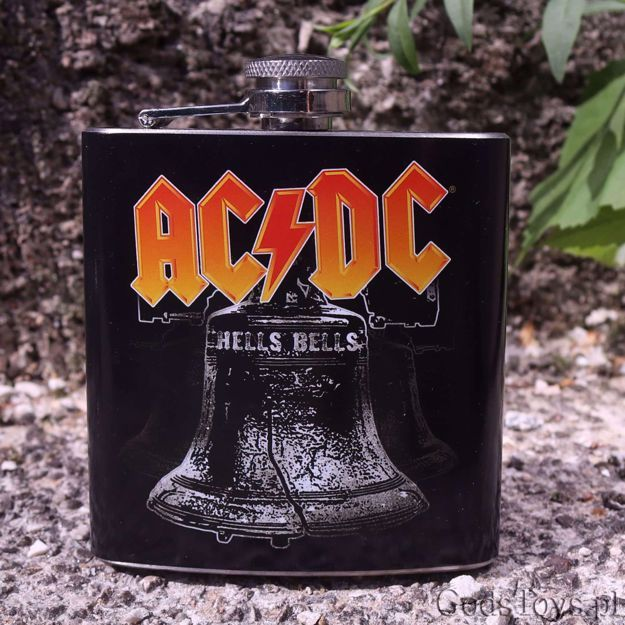 Zestaw Dla Fana Ac Dc Idealna Na Dzien Chlopaka Acdc Flask Bells