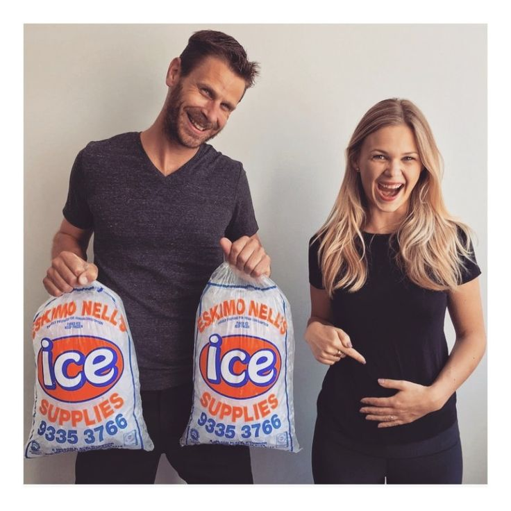 ICE ICE BABY Pregnancy Announcements Image comes from Pinterest