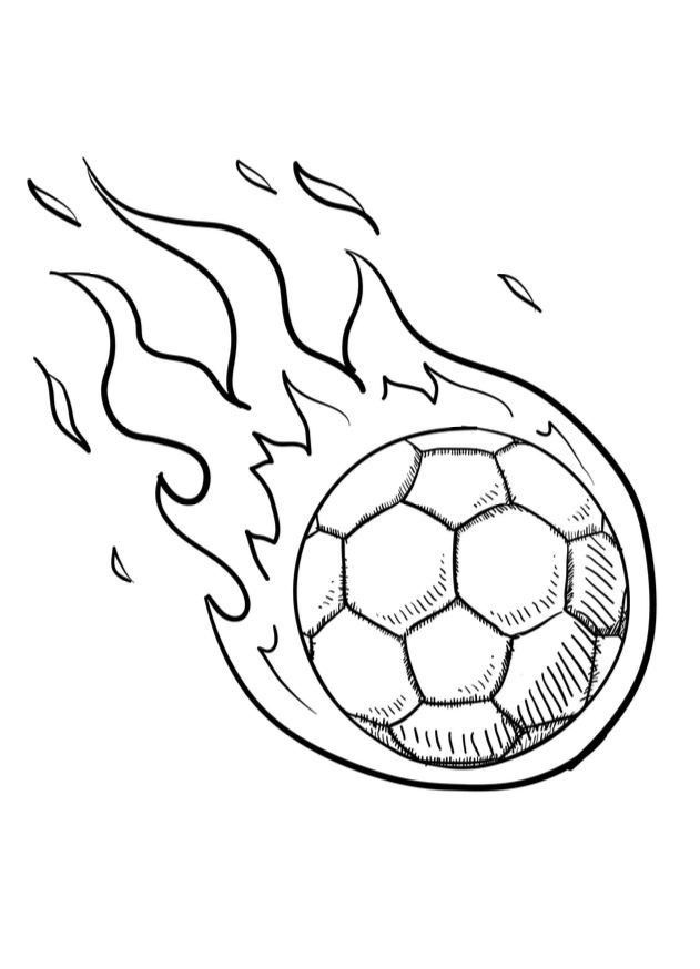 Soccer Balls Coloring Pages 3 Ways To Draw A Soccer Ball Wikihow