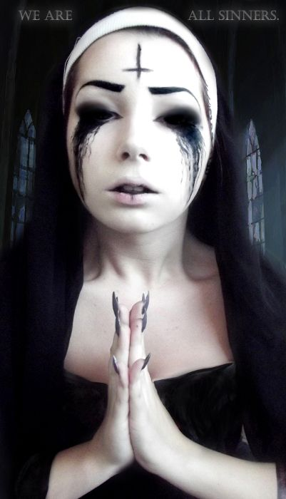 37 best images about Creepy Makeup & FX Contacts on Pinterest ...
