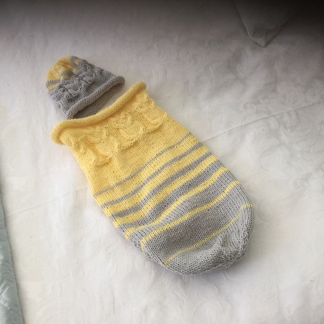 Ravelry: Project Gallery for Owlie Sleep Sack pattern by Teresa Cole