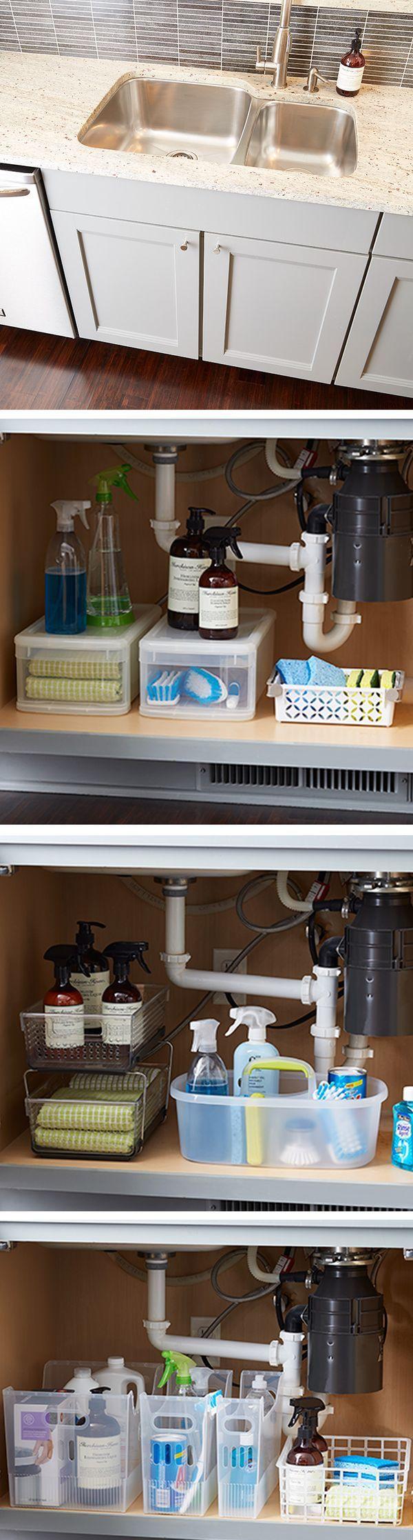 Bathroom storage under sink - Great Under Sink Expectations