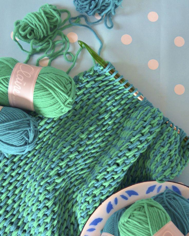 Tunisch gehaakte sjaal – TonSurTon