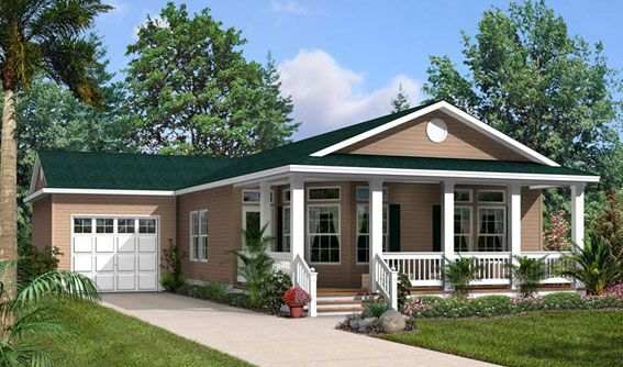 17 best images about manufactured homes exterior on for Prefab lake homes