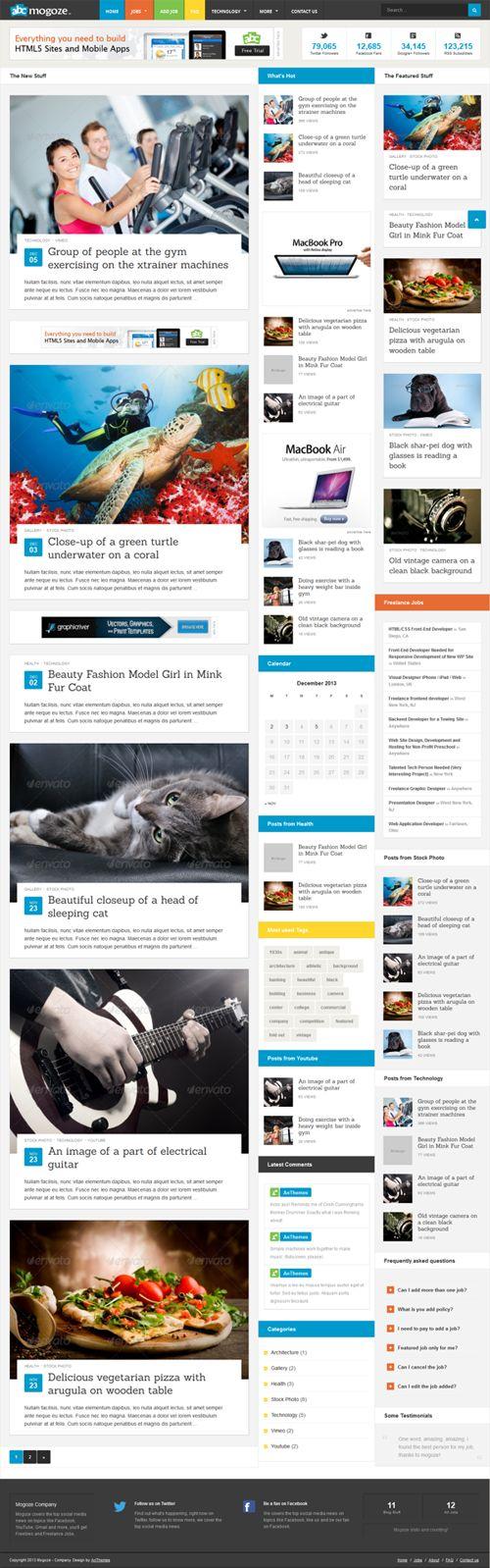 Mogoze – Responsive Magazine WordPress Theme