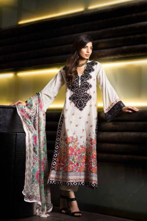 Khaadi Embroidered Eid Lawn Collection 2014