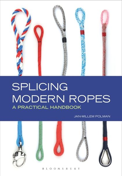 For any seafarer, splicing rope is an essential skill. But the traditional 3-strand rope is fast disappearing. So how do you splice braided rope? This is the definitive guide to this crucial skill. Most of the techniques are quite easy to master – and also fun to do. See why splices are better – and stronger – than knots or shackles for joining or shortening rope, and follow the step-by-step photographs and clear instructions to find out how to splice efficiently. #splicingbook