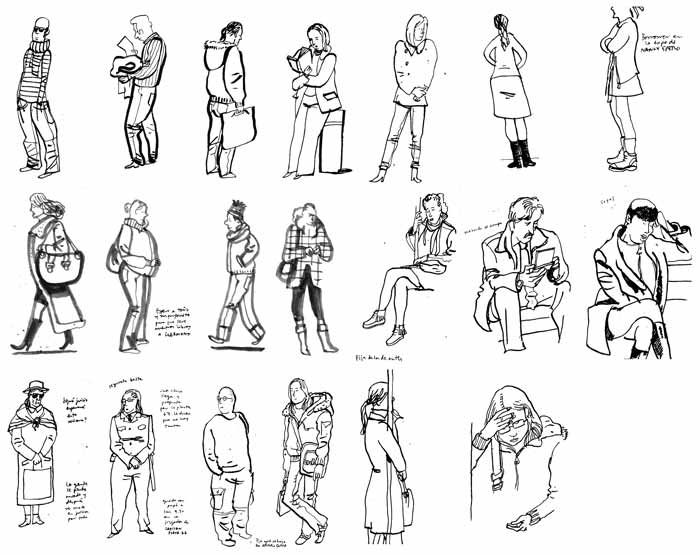 urban sketchers - cool people