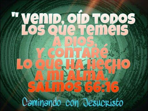 Salmos 66:16