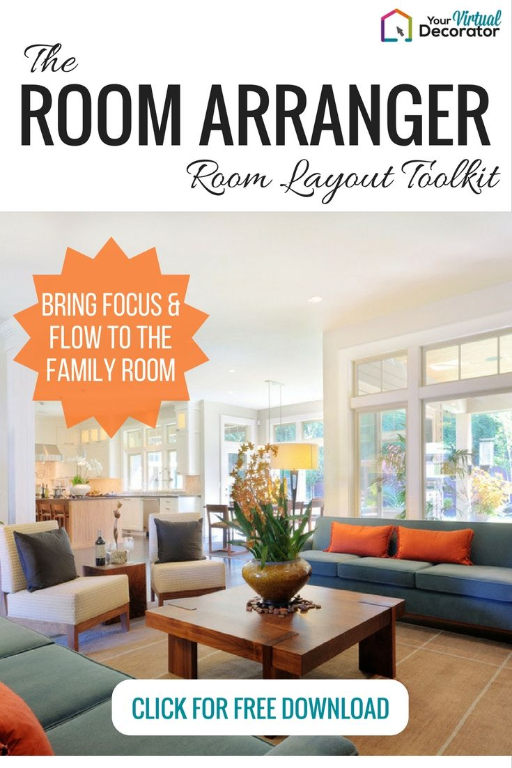 BEFORE YOU REDECORATE Your Living Family Room Try Rearranging What You Already Have Use