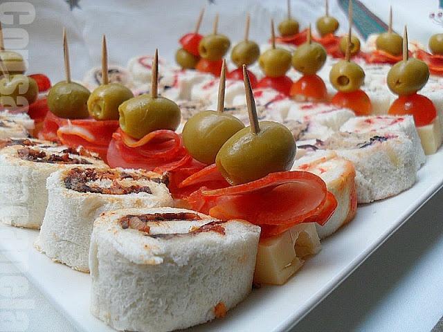Aperitivos navide os aperitivos tapas y canap s pinterest for Canapes y aperitivos