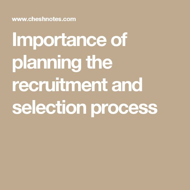 the importance of recruitment and selection of sales essay Recruitment process and its importance the selection of the right candidate for the job read on to understand about the process and its importance recruitment.