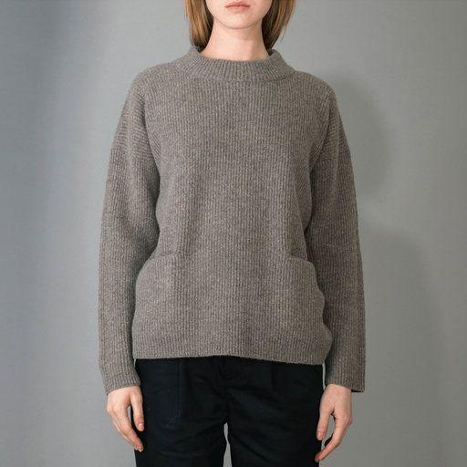 Helga, Stickad tröja med fickor - Tröjor & cardigans- Köp online på åhlens.se!