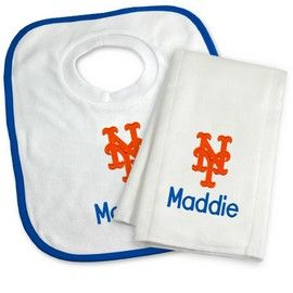 8 best new york mets baby gifts images on pinterest big kids new york mets personalized bib and burp cloth gift set new york mets at personalized gifts negle Choice Image
