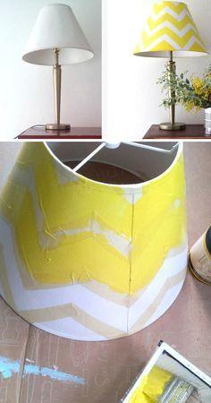 30 Diy Home Decor Ideas On A Budget Lamp Makeover