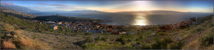 panorama of Senj