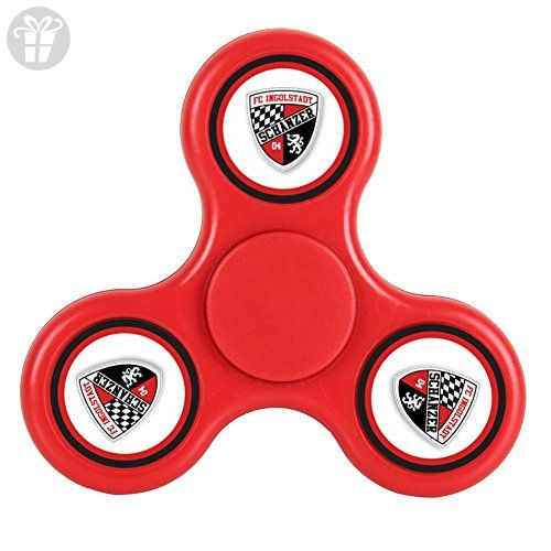 MEI SH Ingolstadt 04 FC Spinner Fidget Toy Hand Spinner Toy Relieve Stress And Anxiety - Fidget spinner (*Amazon Partner-Link)
