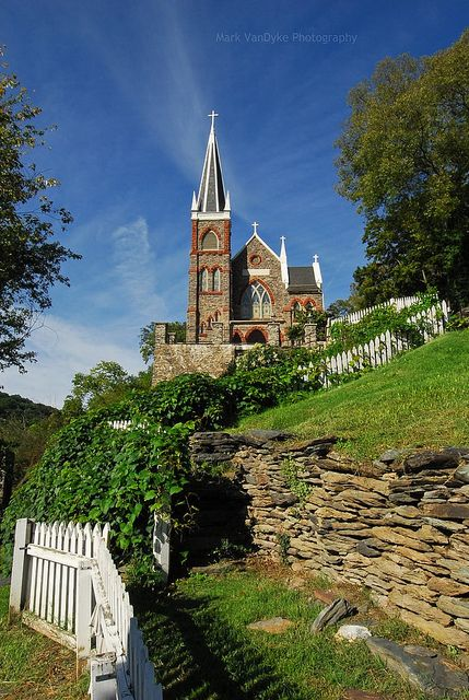 Historic Saint Peters Church in Jefferson County, West Virginia