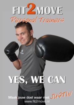 Ik zie personal training als een middel waarmee in uitgebalanceerde en intensieve trainingen je doelen op effectieve wijze behaald zullen worden.  Fit2Move Personal Trainer: Justin.