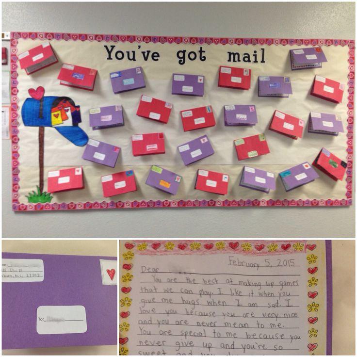 Easy Classroom Decoration Ideas ~ Friendly letter bulletin board idea cute simple and easy