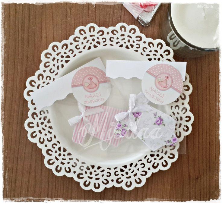Bebek Tulumları * Bebek şekeri * keçe felt feltro / www.misilaa.com * Handmade * Baby shower * Magnet