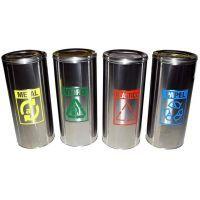 Lixeira coleta seletiva é produzida em aço inox, apresenta mais durabilidade e retenção dos odores, possui capacidade de 28L. Veja mais no link!