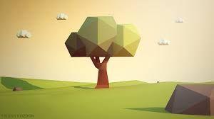 Resultado de imagen de tree low poly