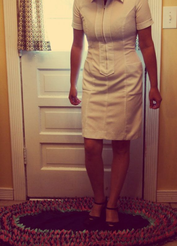 Vintage Nurse Uniform Dress just in time for Halloween!