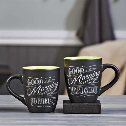 Good Morning, Handsome mugs www.machogifts.tumblr.com