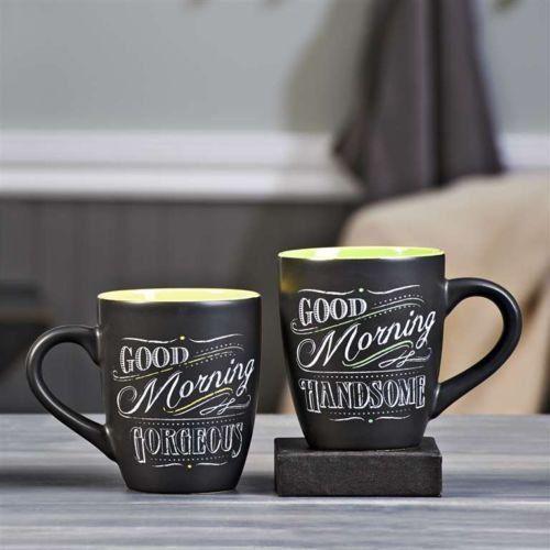 Good Morning, Handsome mugs www.machogifts.tumblr.com